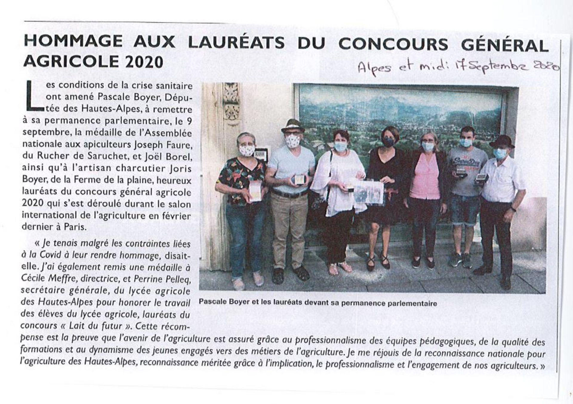 Alpes et Midi - 17 sept 2020