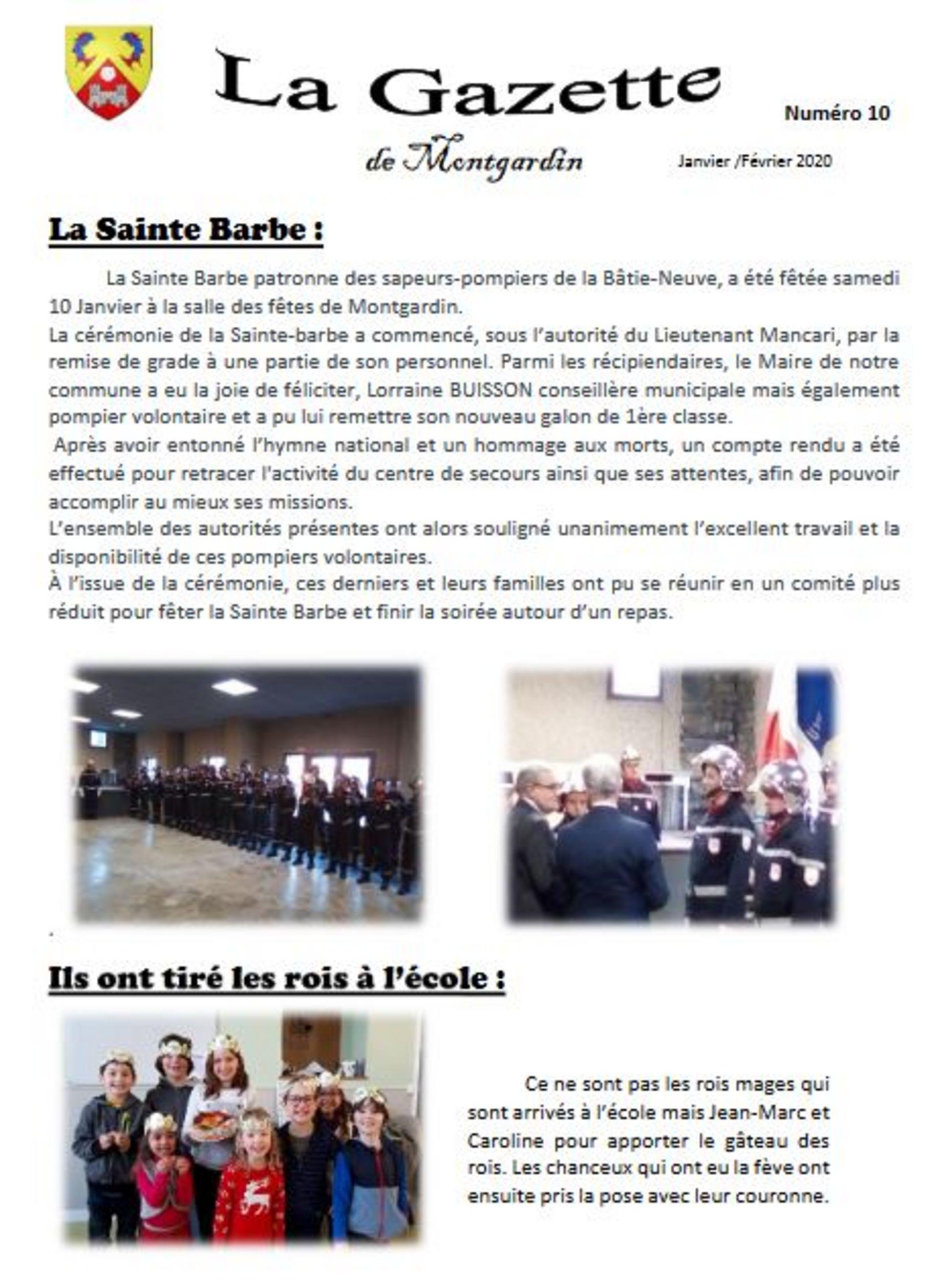 Gazette n°10 - 2020