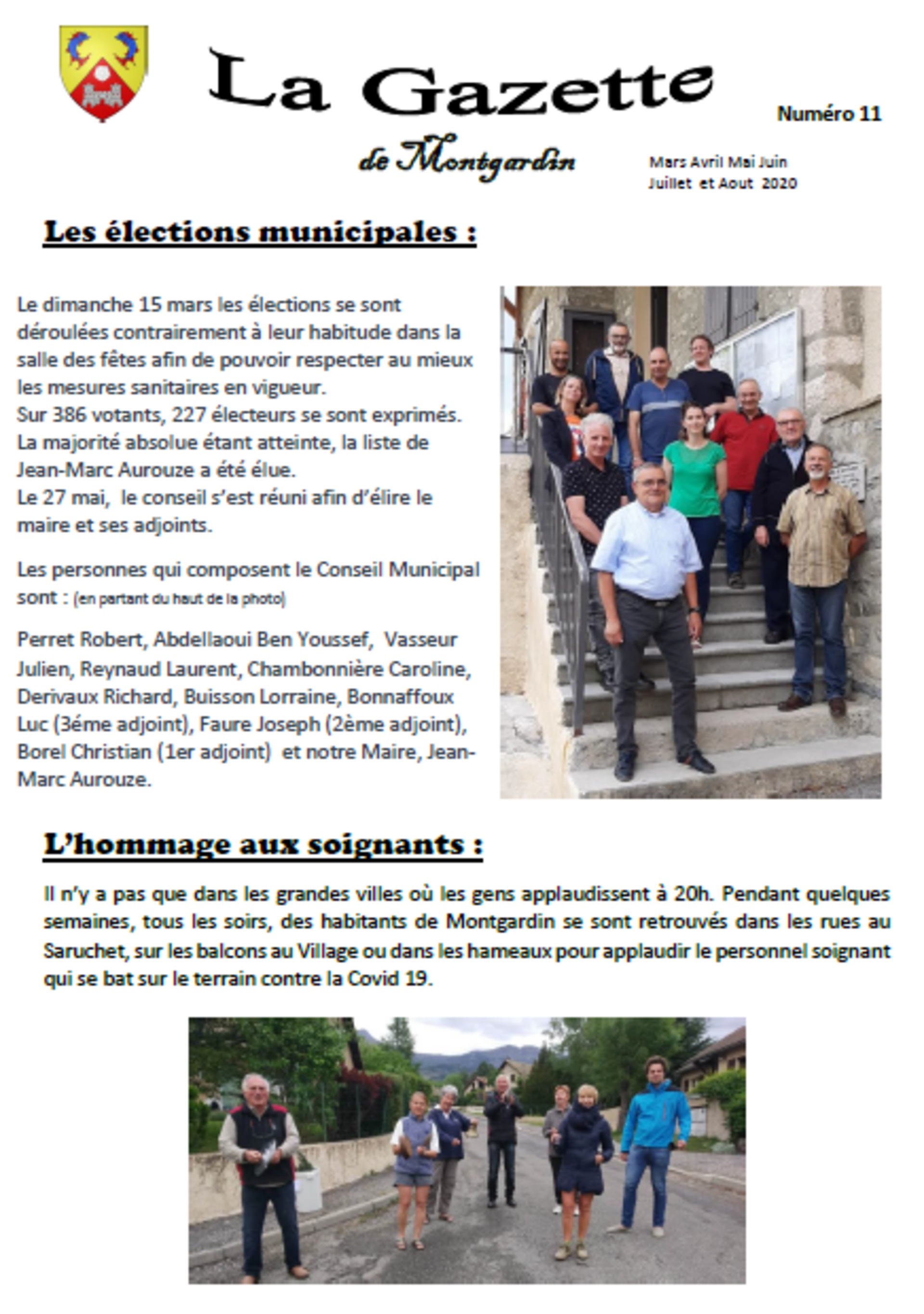 Gazette n°11 - 2020